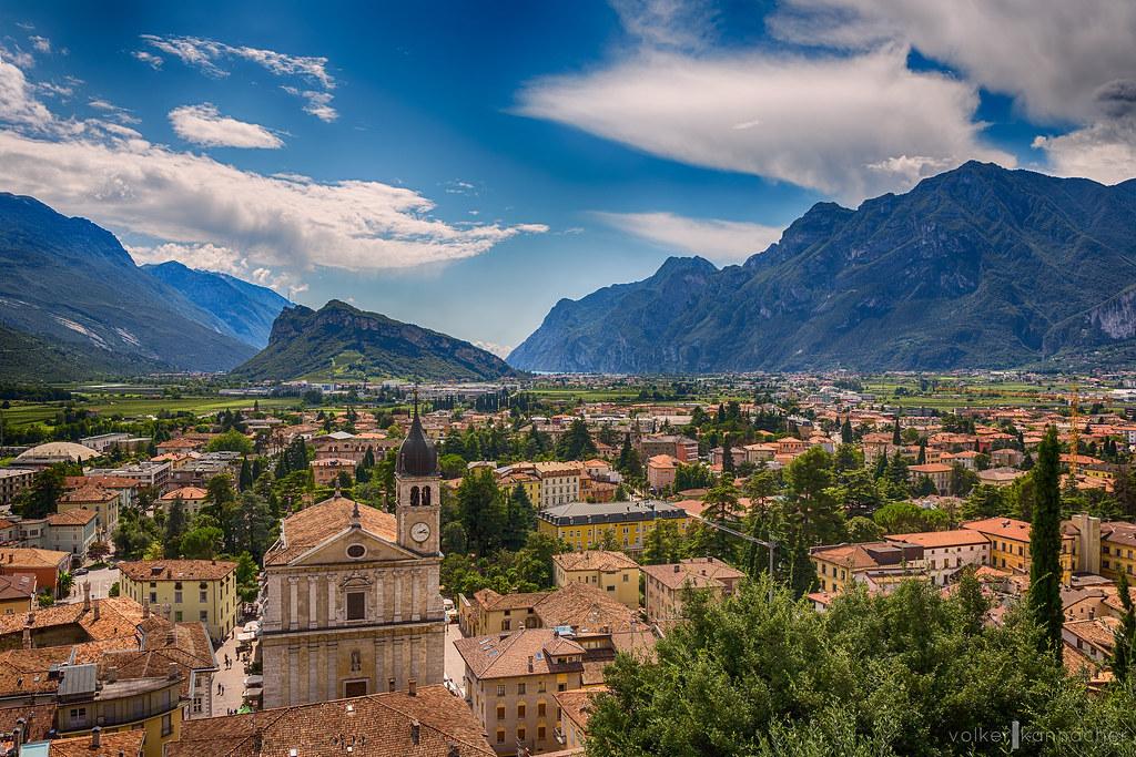 Italian Town of Arco - Lake Garda