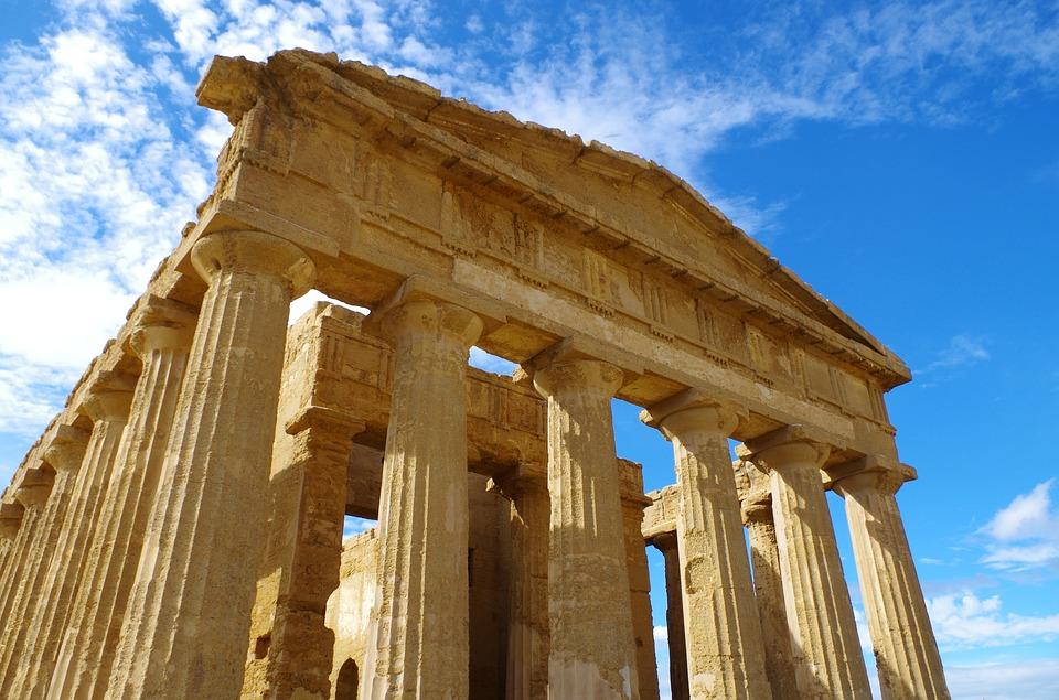 Agrigento Zeus Temple