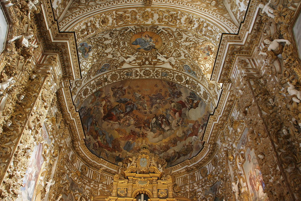 Agrigento Cathedral ceiling