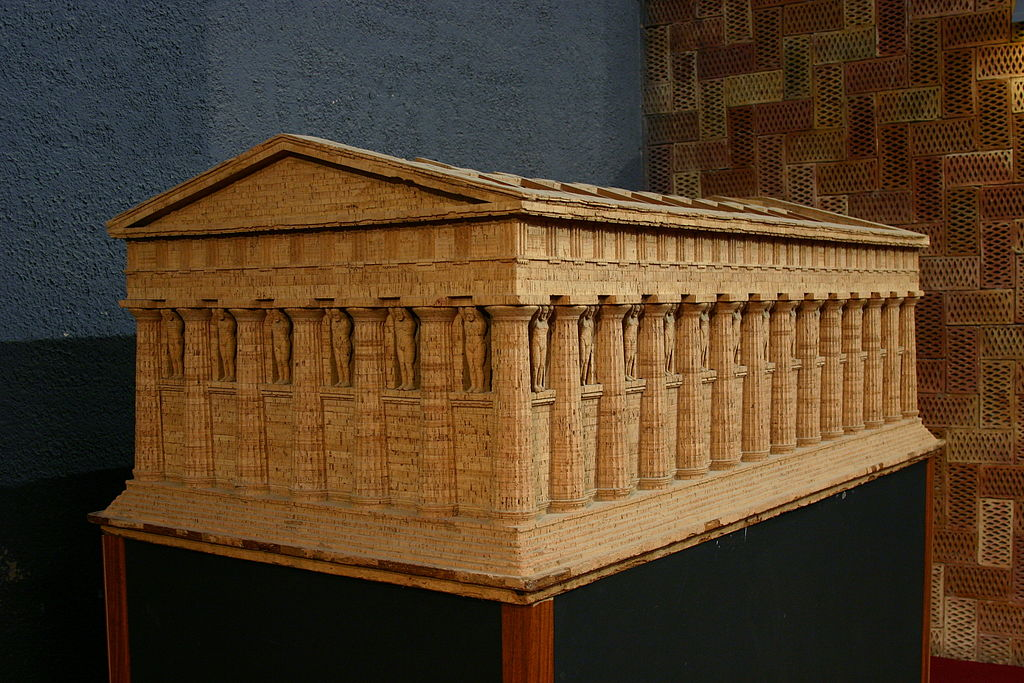 Model of Temple Zeus Agrigento