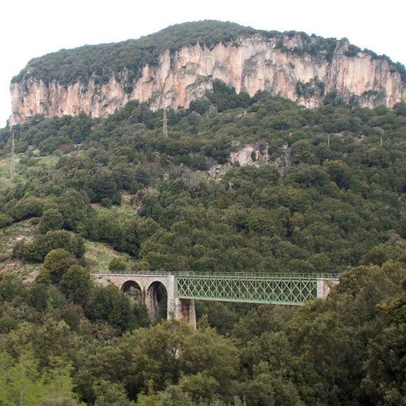 Train in Sardinia