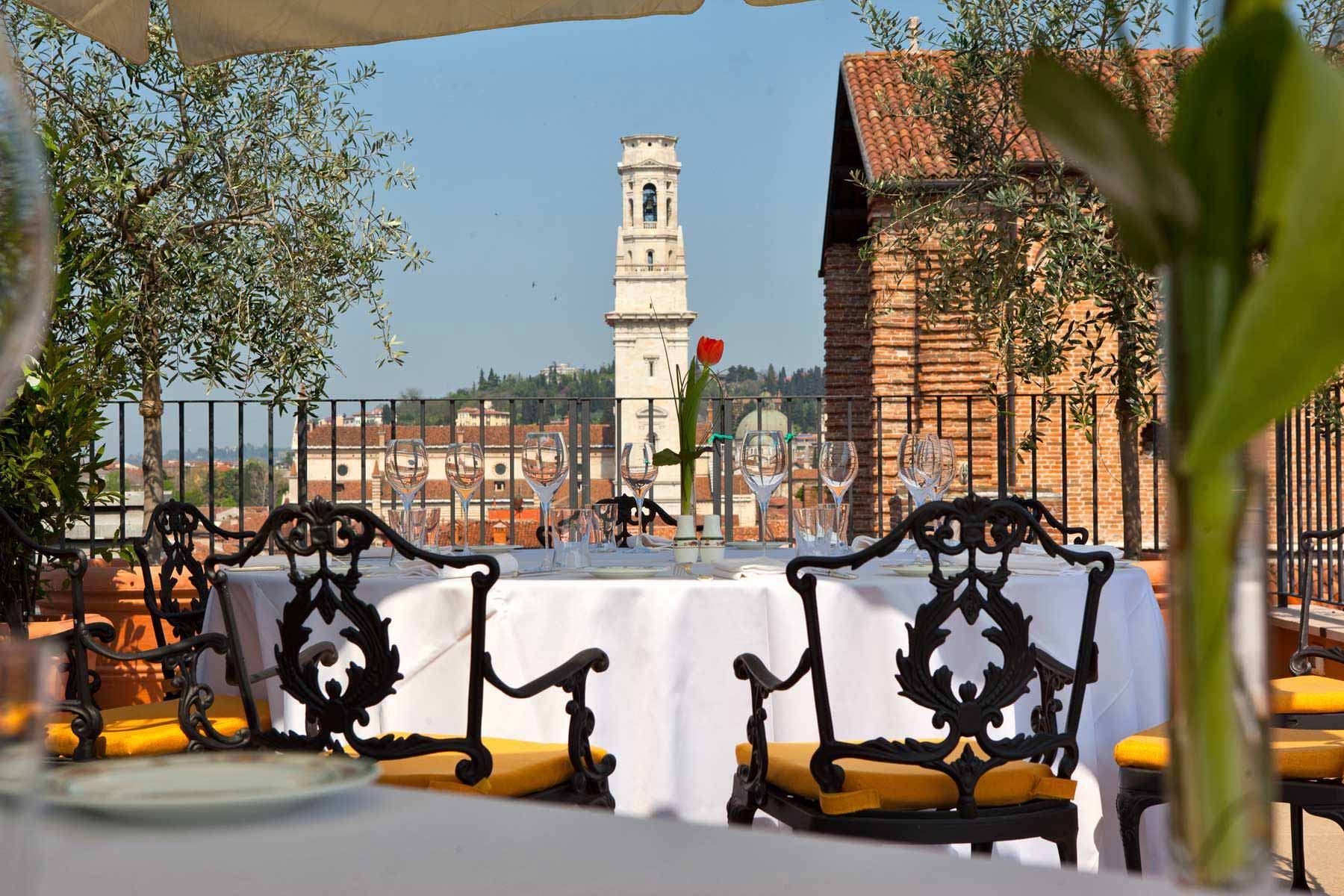 A view from the terrace of Verona