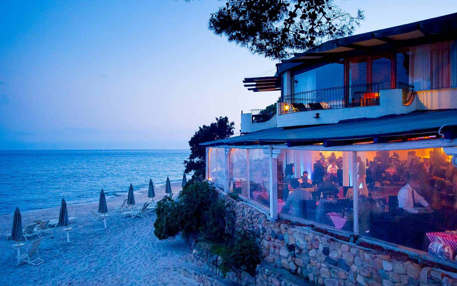 Bellavista restaurant at the Forte Village Resort