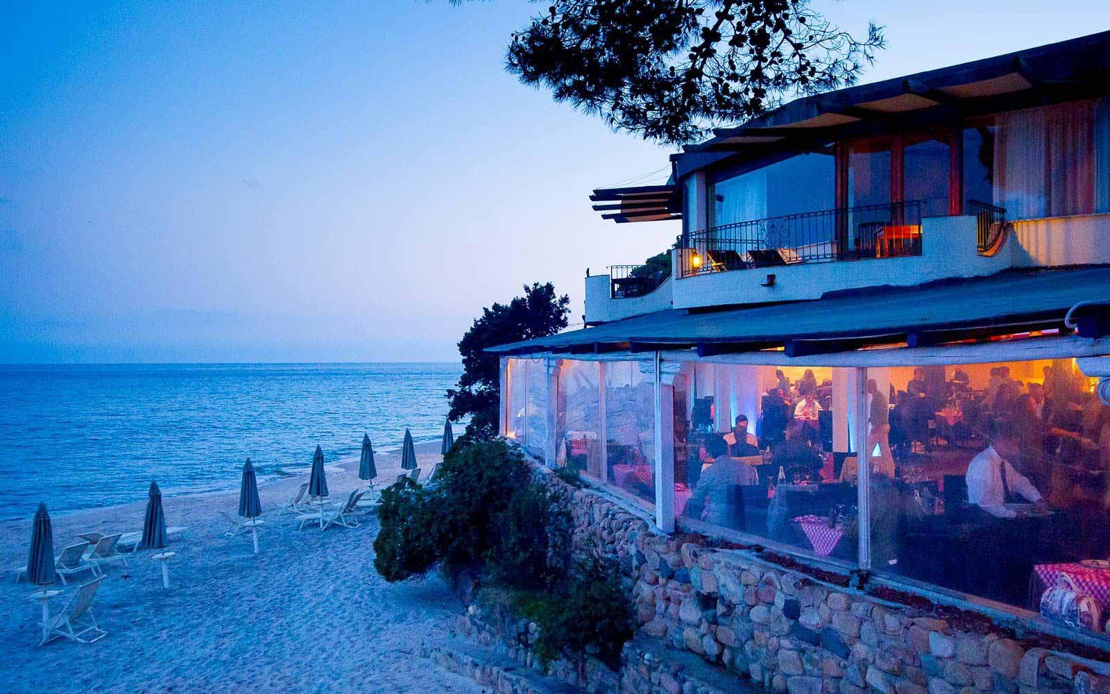 Bellavista restaurant at the Forte Village Resort