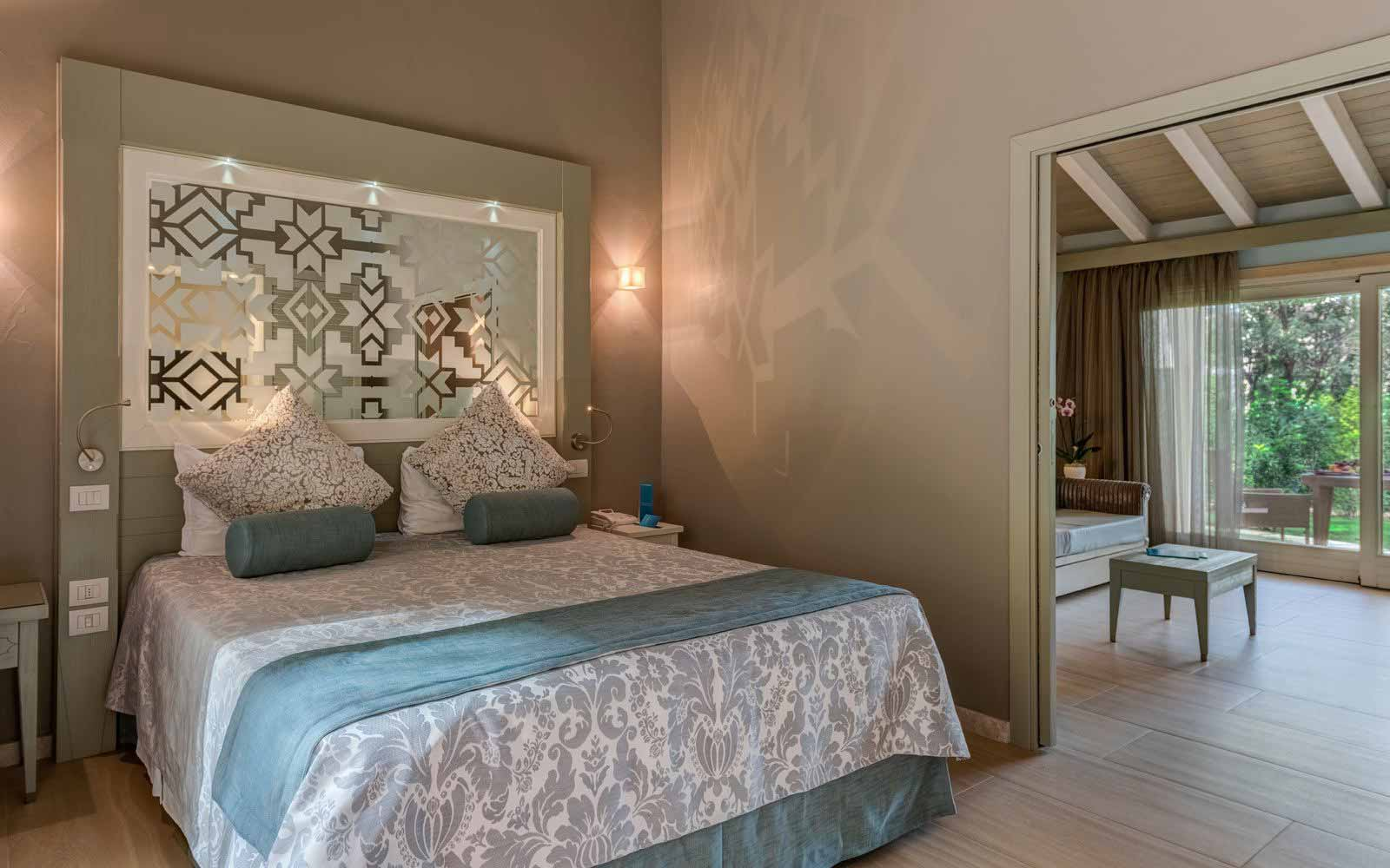 Le Palme Deluxe Family Bungalow at the Forte Village Resort
