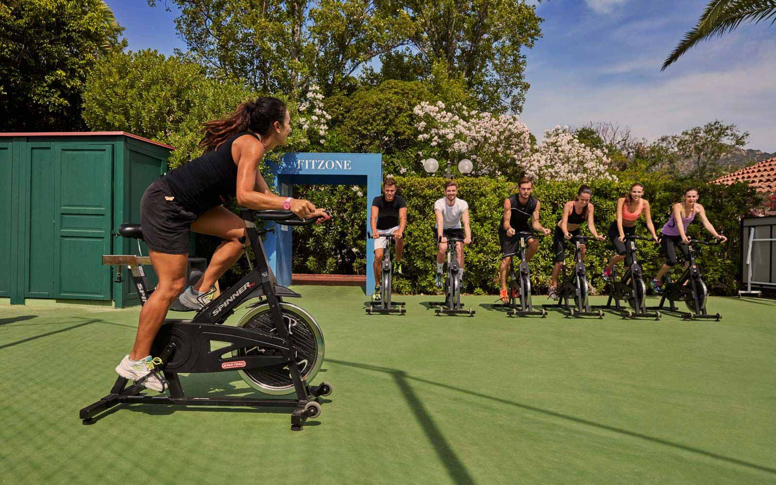 Sport Fitzone at the Forte Village Resort