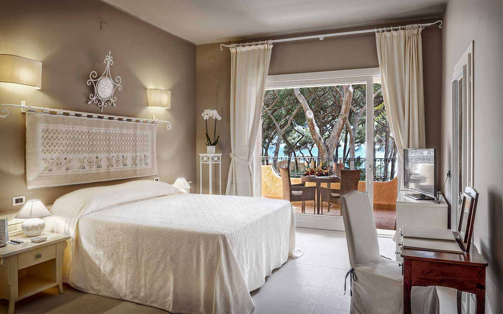 Executive mare room at Forte Village Hotel Castello