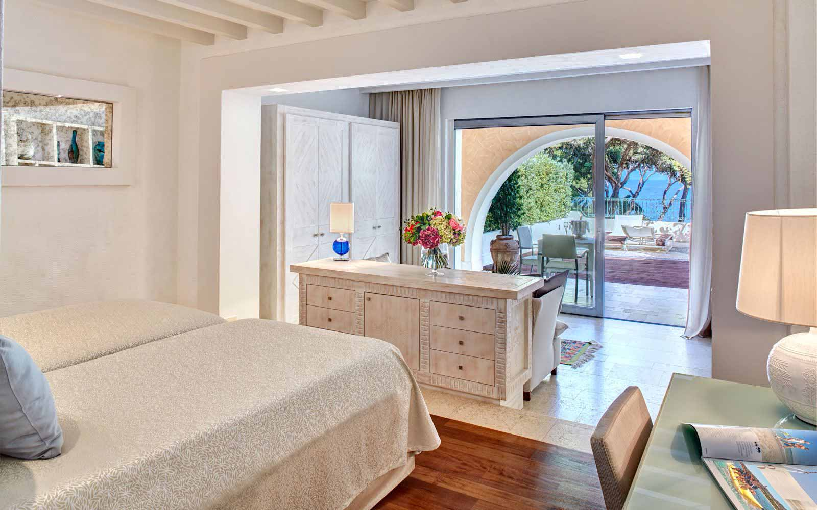 Hotel Castello Prestige Plus Bedroom at Forte Village Resort