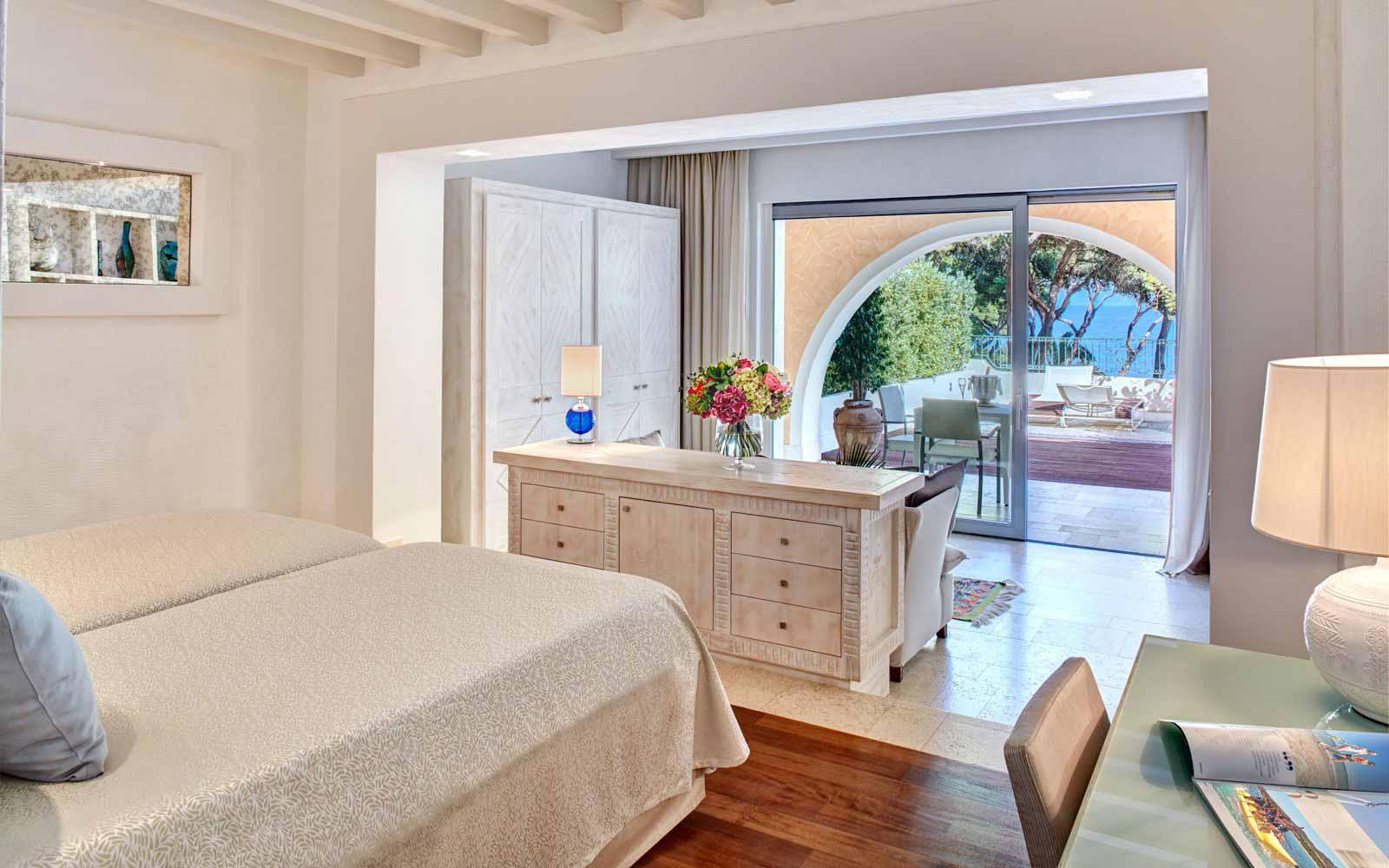 Hotel Castello Prestige Plus Bedroom at Forte Village Resort