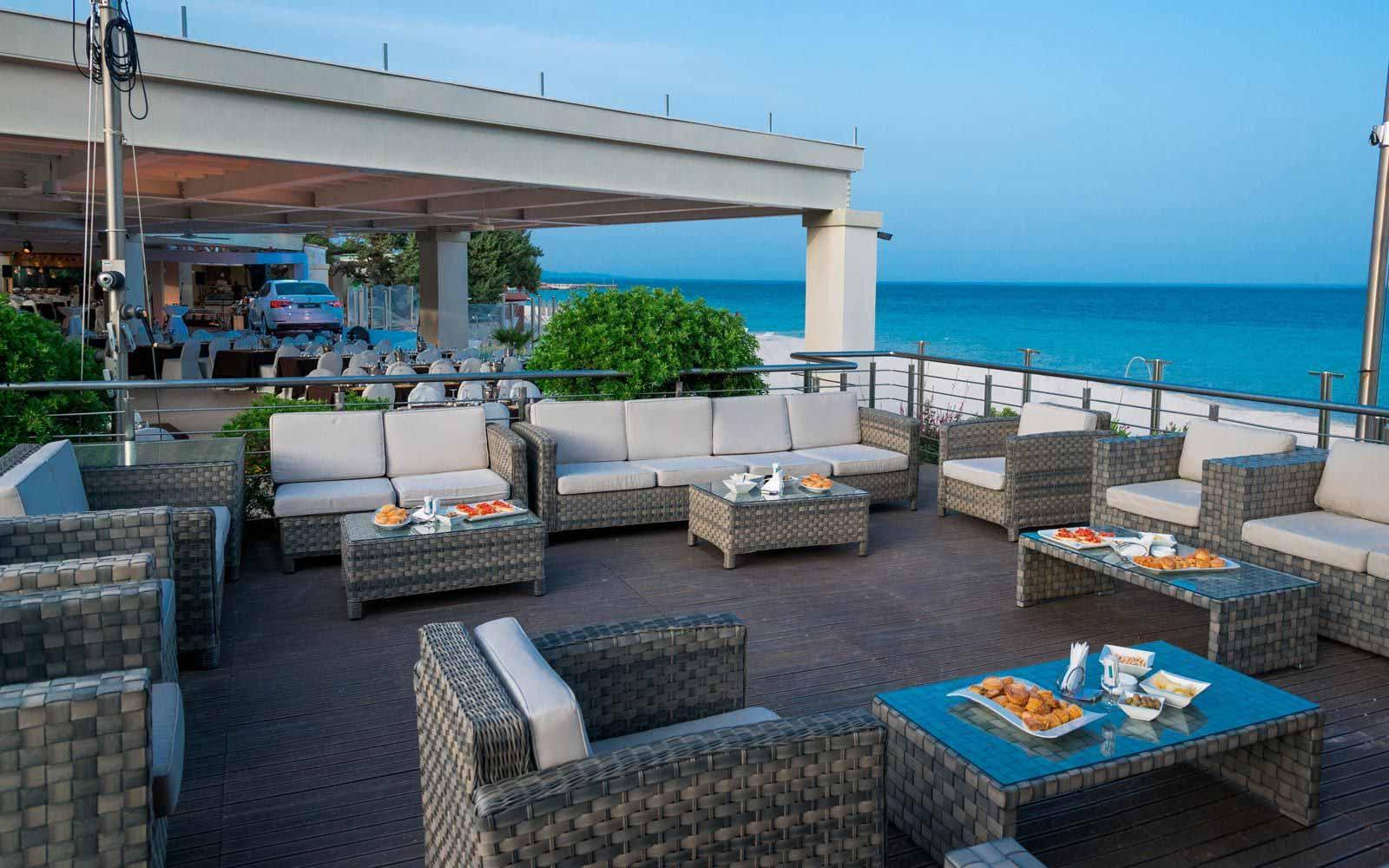 Aquatica bar at Forte Village Resort