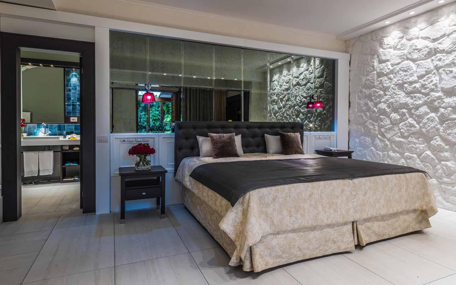 Luxury room at Forte Village Villa del Parco