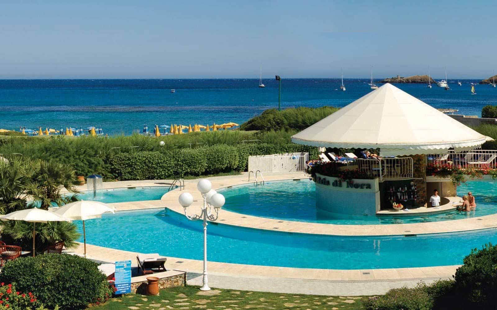 The pool at Hotel Baia Di Nora