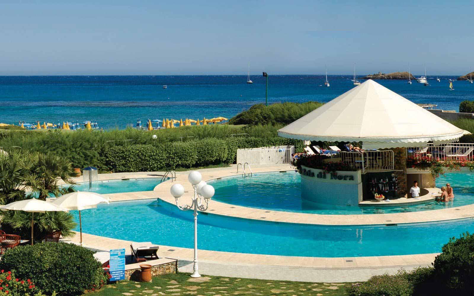 The pool at Hotel Baia Di Nora
