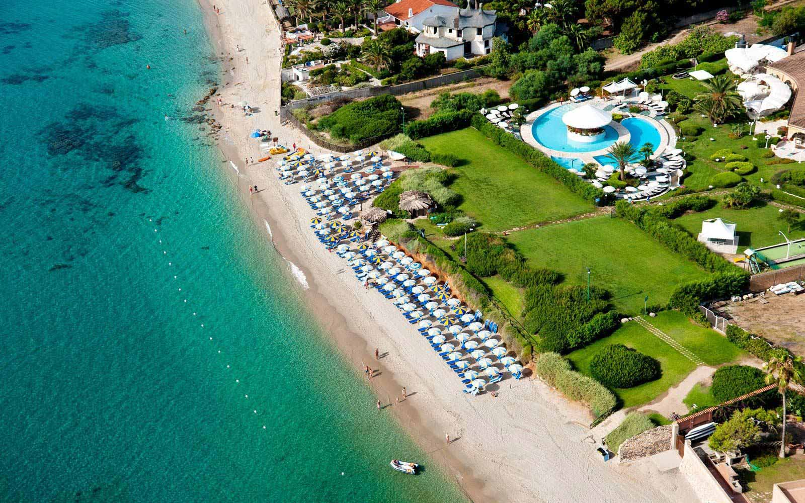 Panoramic view at Hotel Baia Di Nora