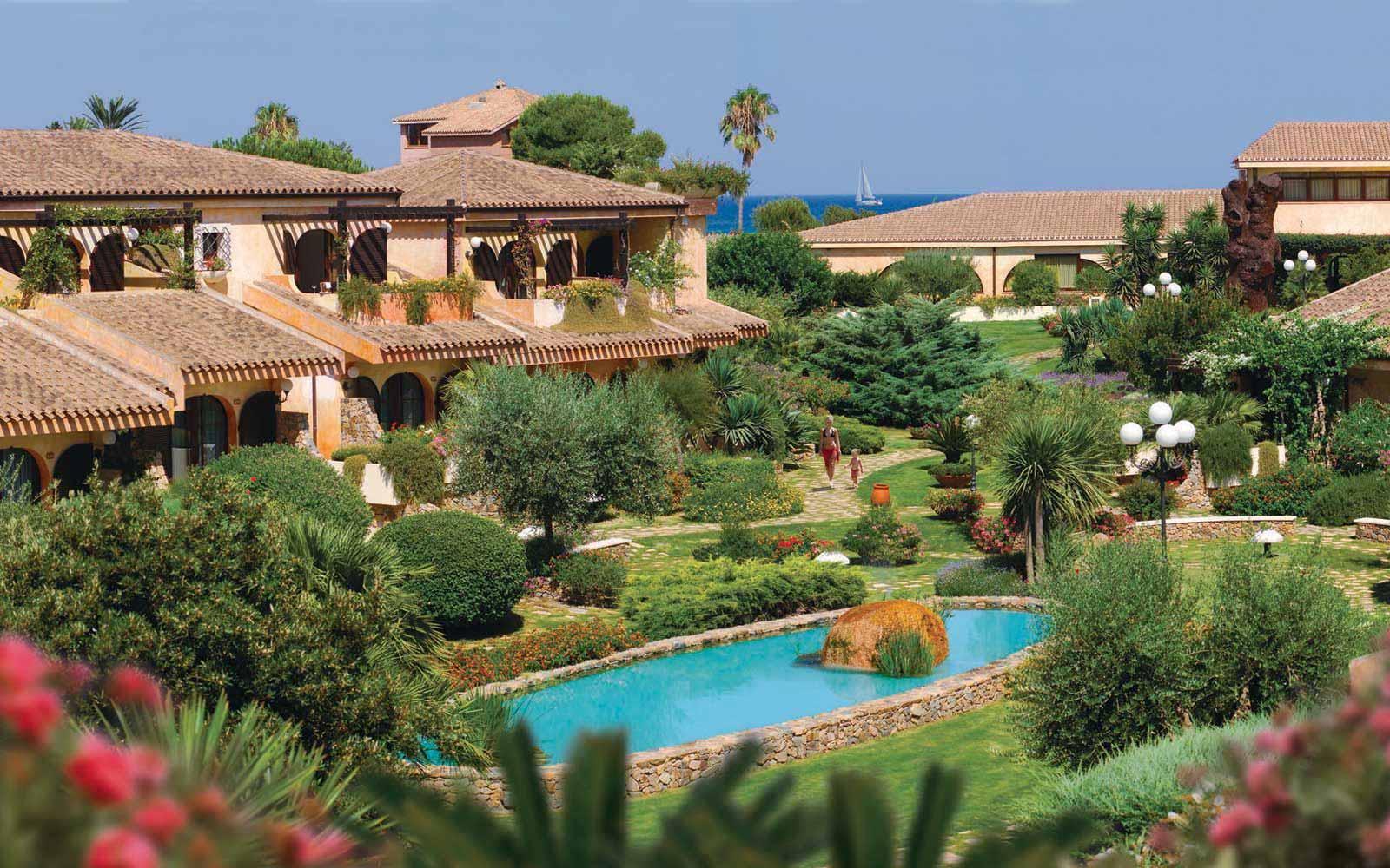 Gardens at Hotel Baia Di Nora