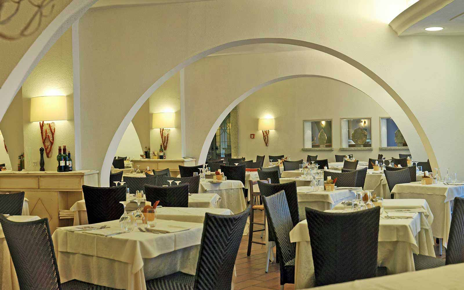 I Coralli Restaurant at Hotel Flamingo