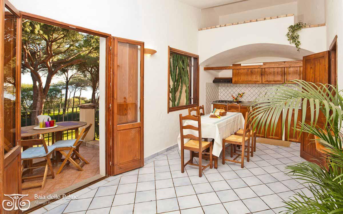 Three bedroom flat Pini at Residence Baia delle Palme