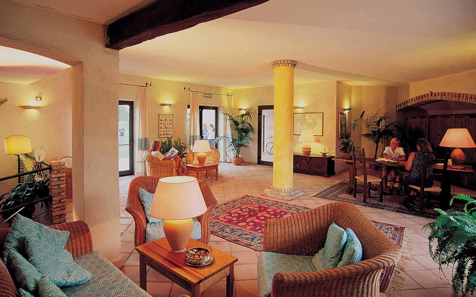 Reception at Residence Baia delle Palme