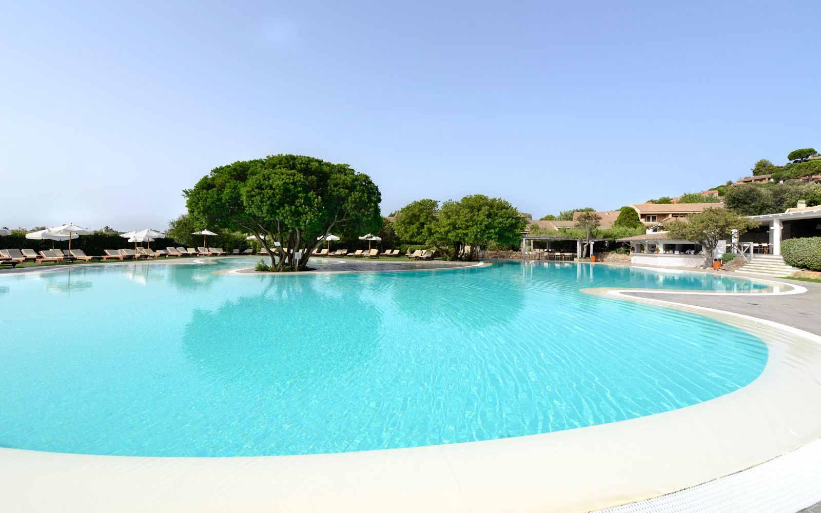 Swimming pool at Chia Village