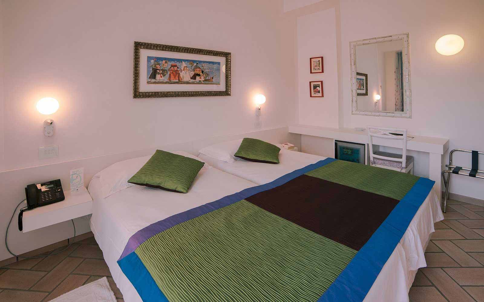 Classic room with garden view at Hotel Stella Maris