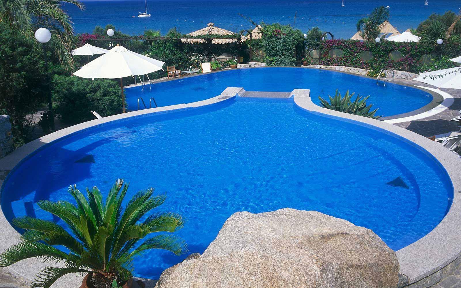 Pool at Hotel Stella Maris