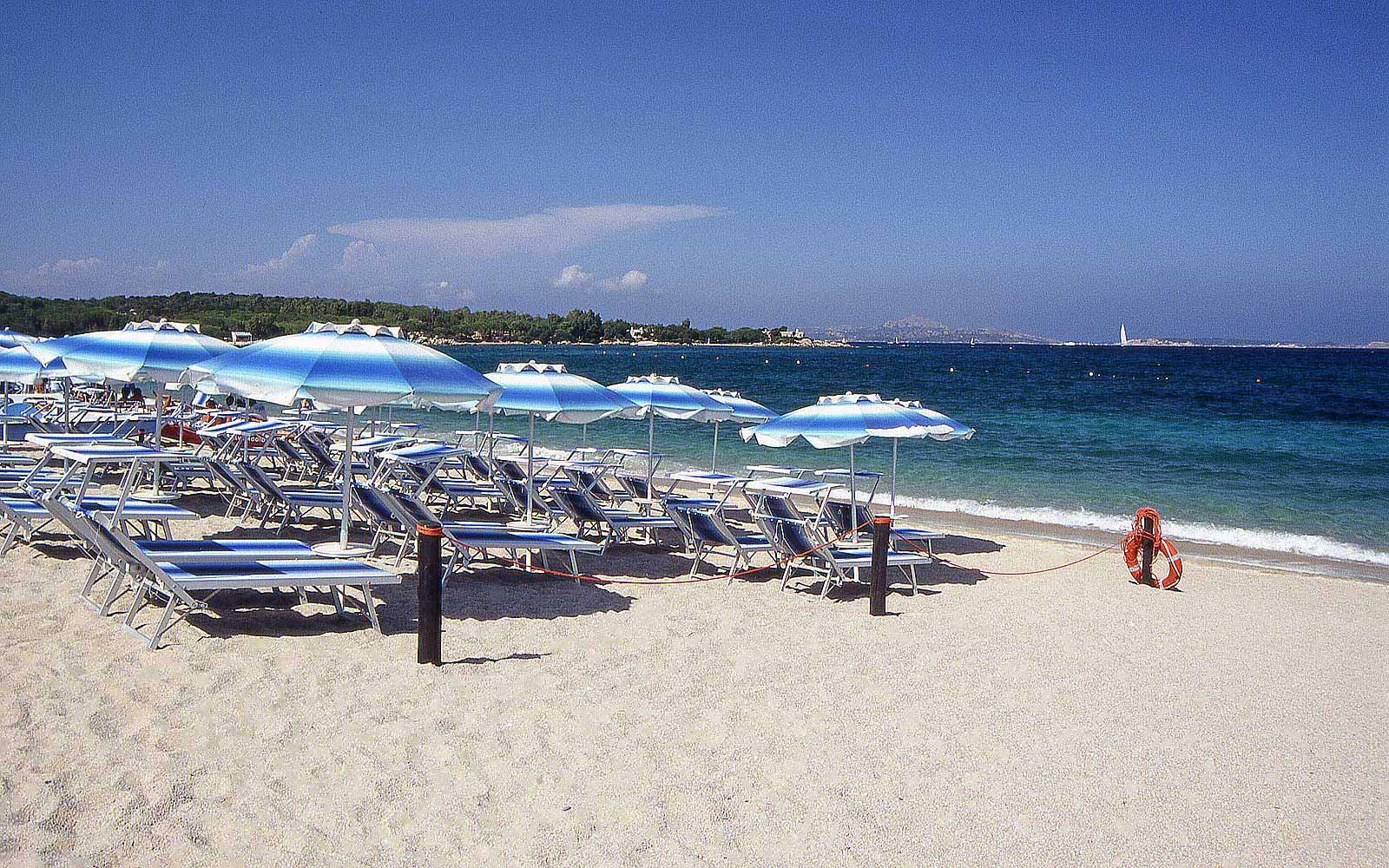 Beach at Hotel Stella Maris
