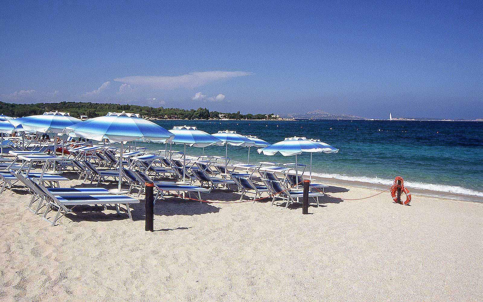 Beach at Hotel Stella Maris