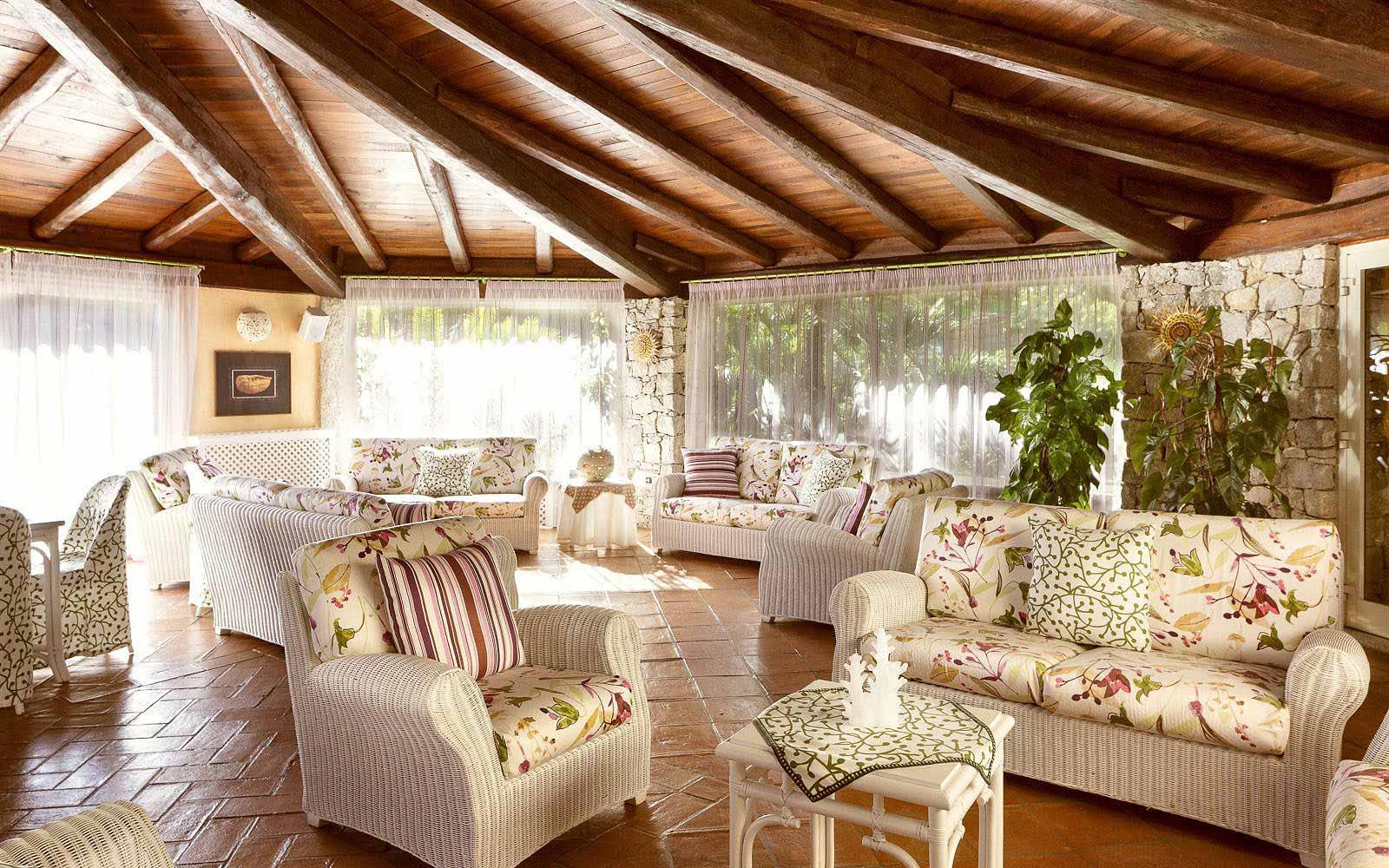 Lounge at Hotel Stella Maris