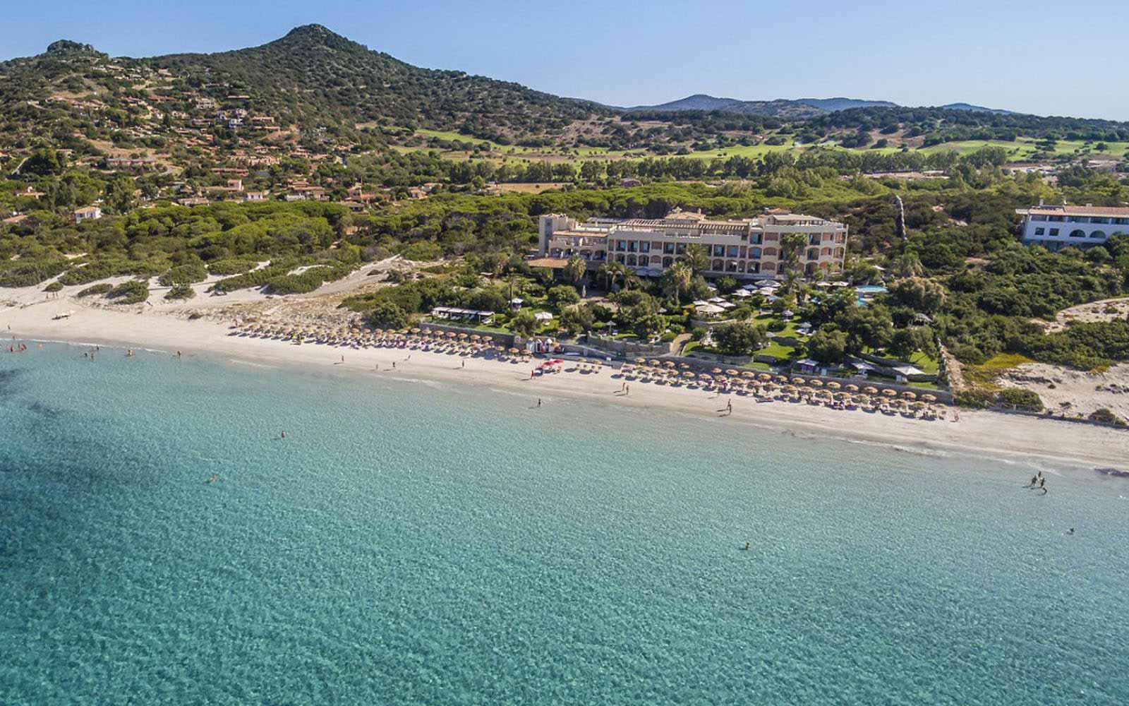 Panoramic view at Hotel Stella Maris