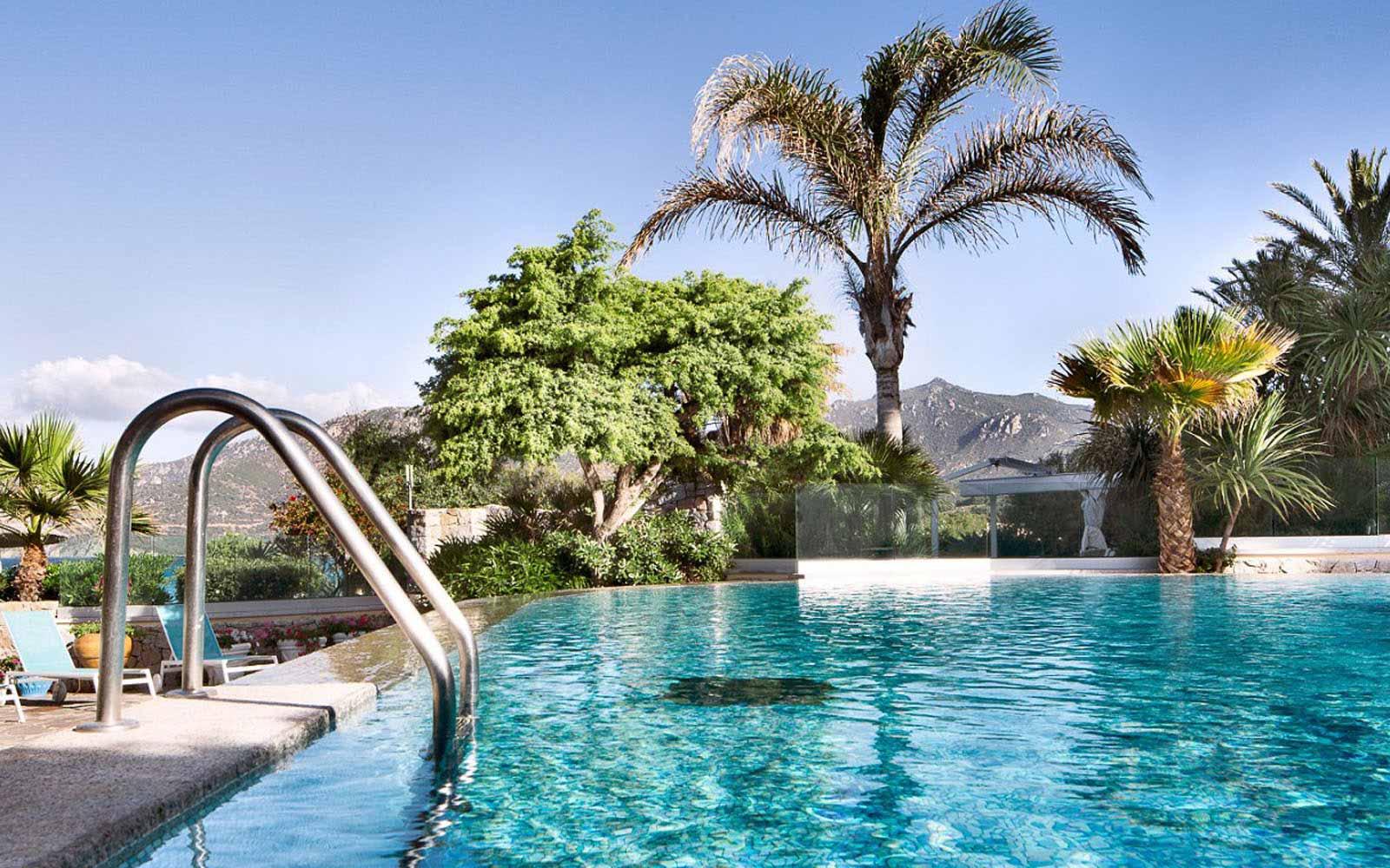 Swimming Pool at Hotel Stella Maris
