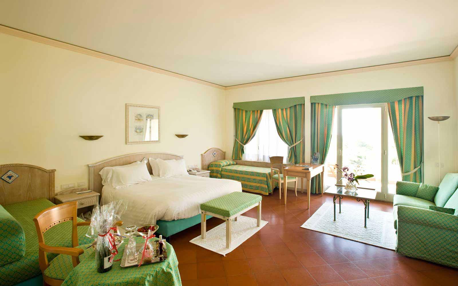 Deluxe room at Pullman Timi Ama Sardegna