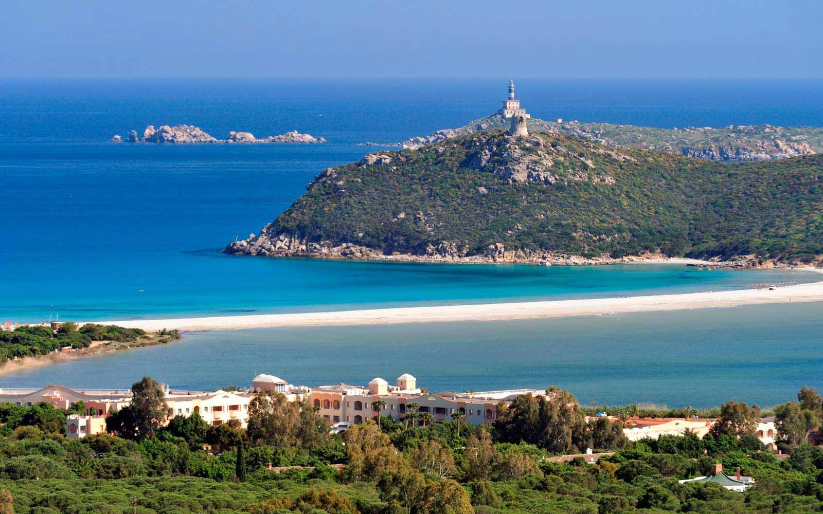 Panoramic bay view at Pullman Timi Ama Sardegna
