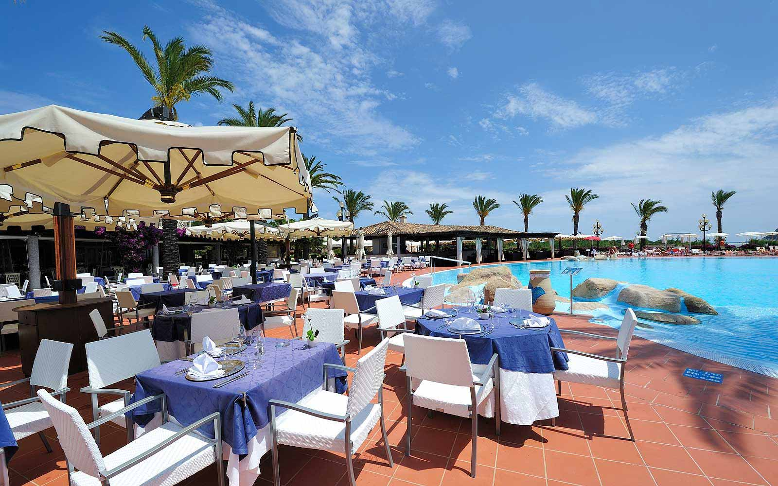 La Veranda restaurant at Pullman Timi Ama Sardegna