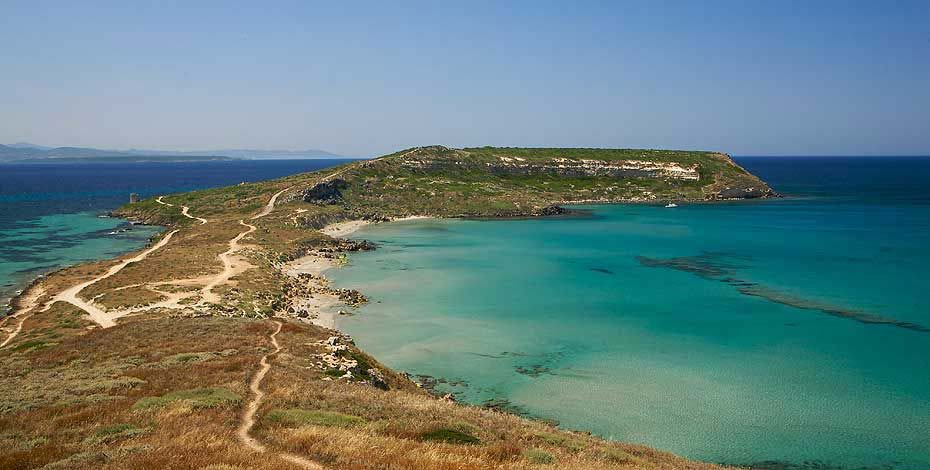 Sinis peninsular nearby the Is Benas Country Lodge