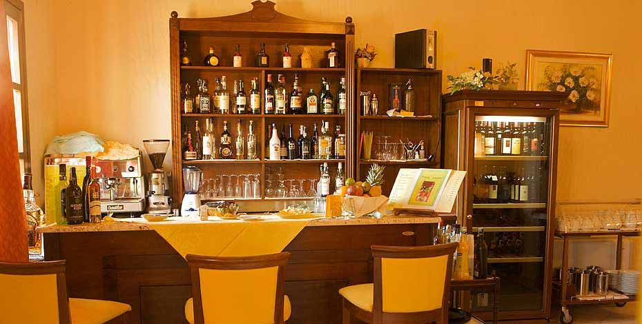 Bar at the Is Benas Country Lodge