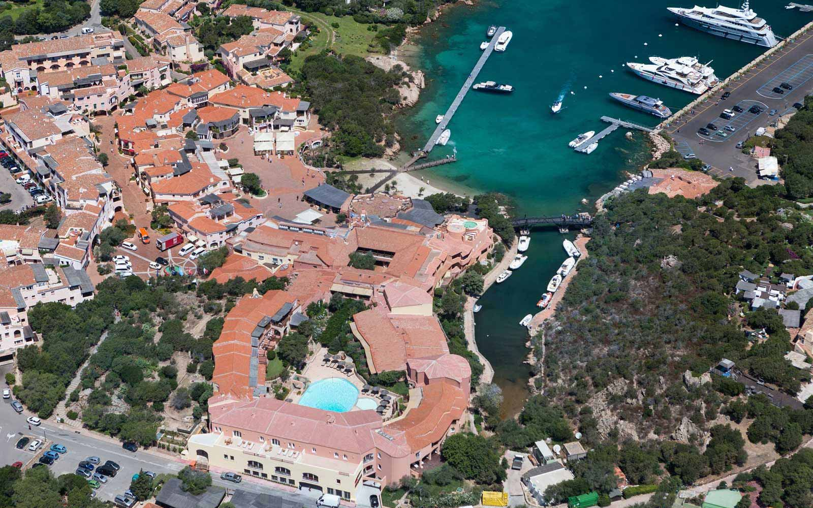 Aerial View of Cervo Hotel