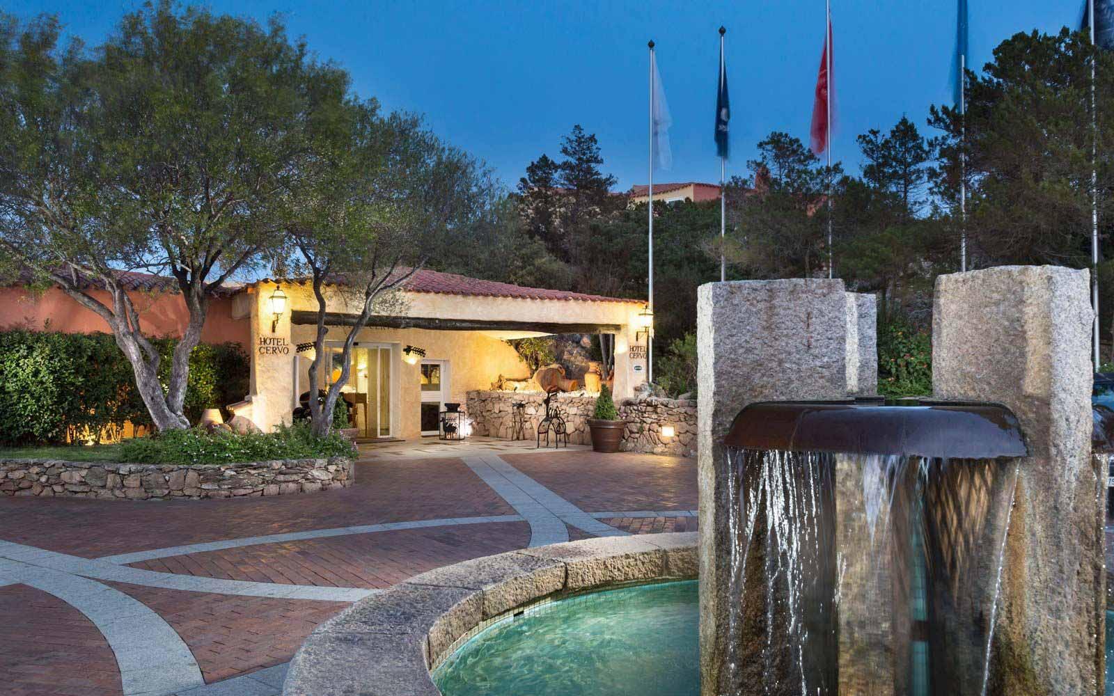 Entrance at Cervo Hotel
