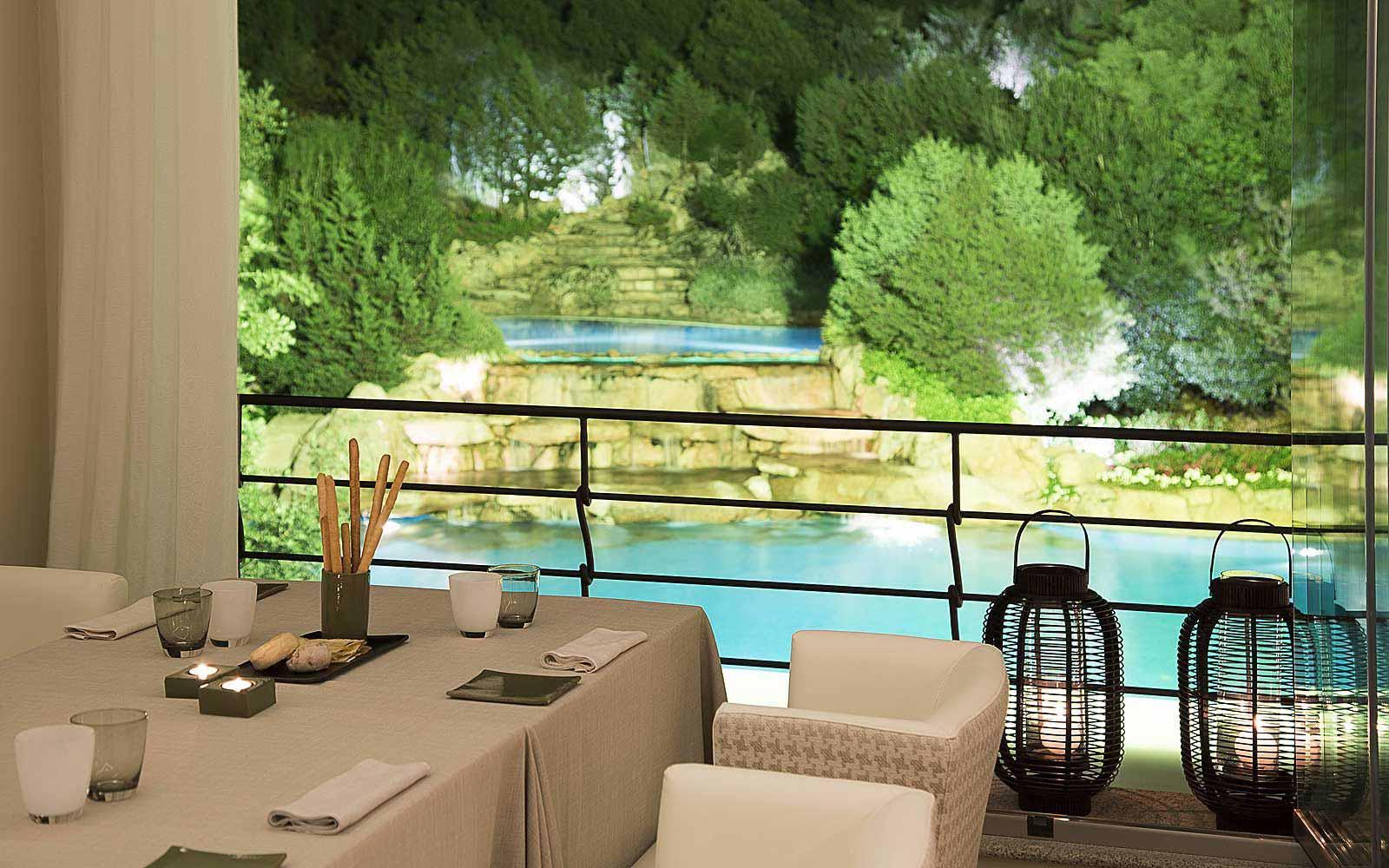 Zafferano Restaurant at Colonna Pevero Hotel