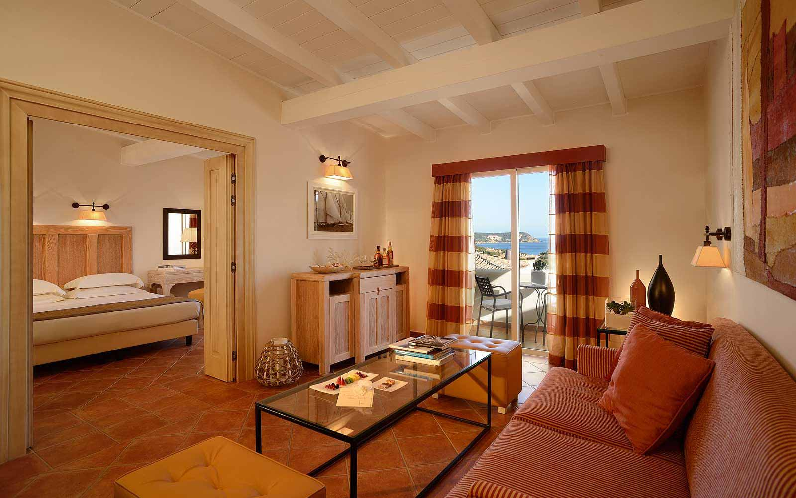 Executive Suite at Colonna Pevero Hotel