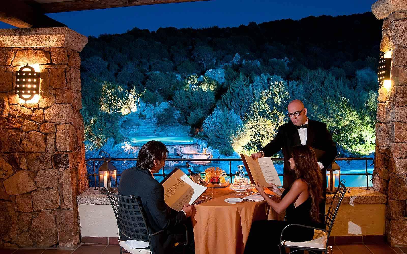 La Terrazze Restaurant at Colonna Pevero Hotel