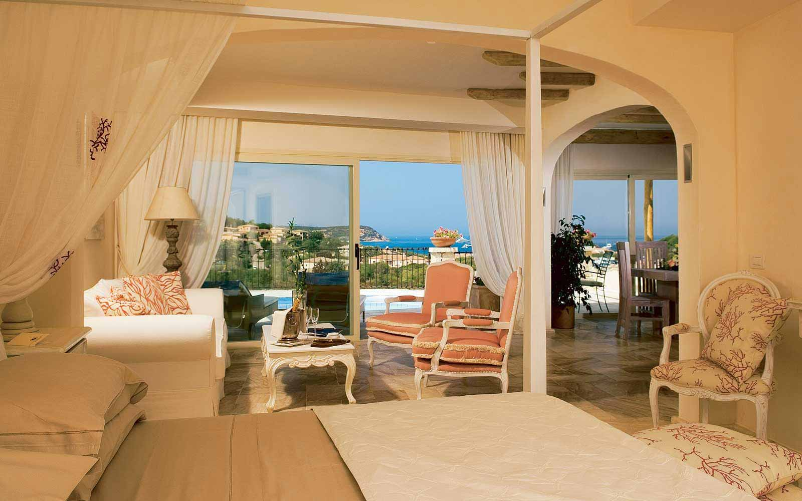 Presidential Suite at Colonna Pevero Hotel