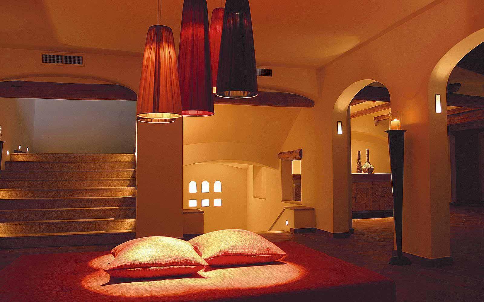 Lounge at Colonna Pevero Hotel