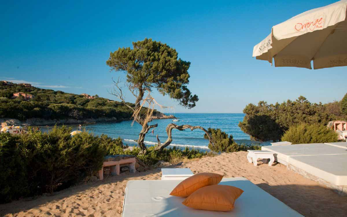 Orange club at Grand Hotel in Porto Cervo