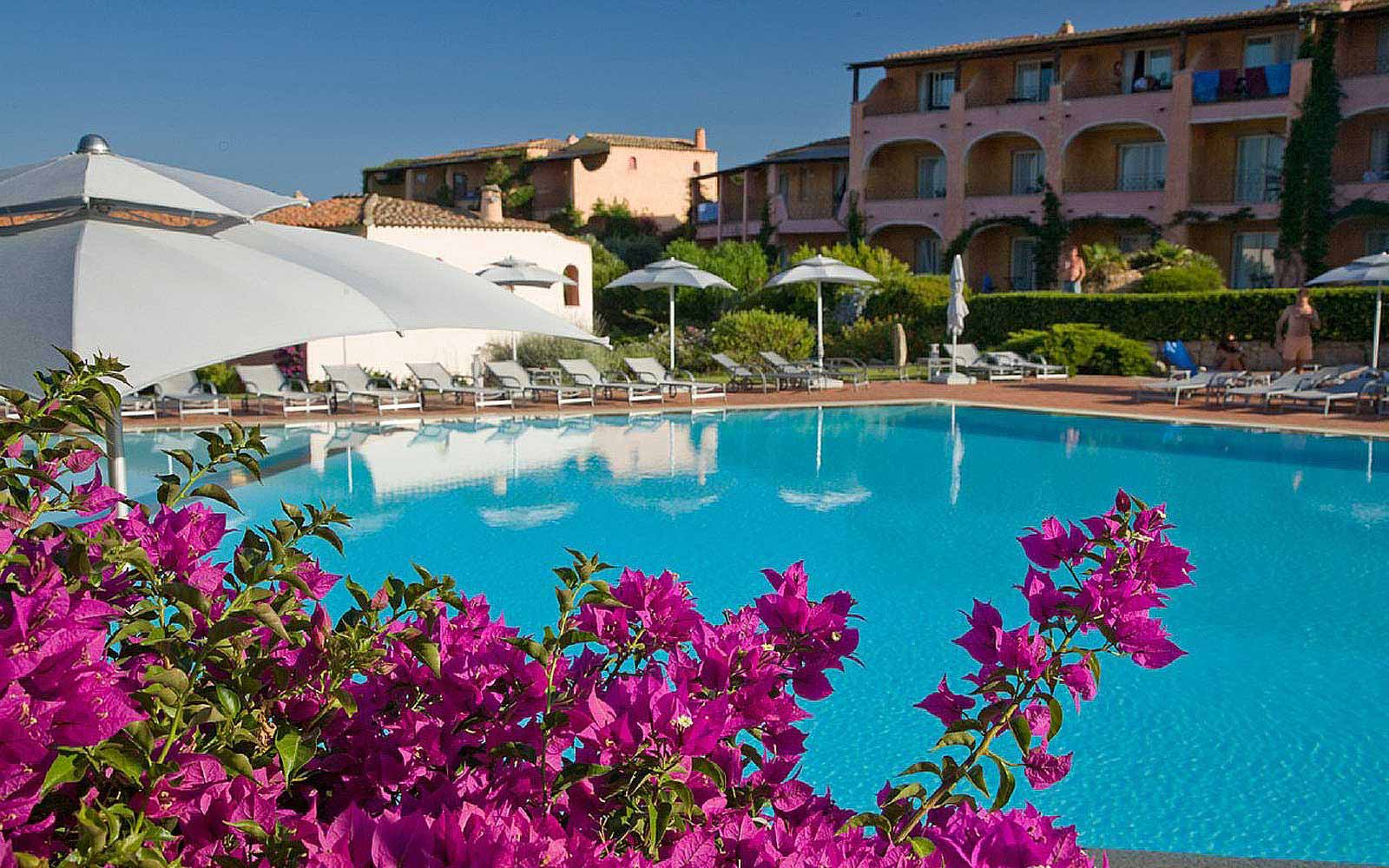 Pool at Grand Hotel in Porto Cervo