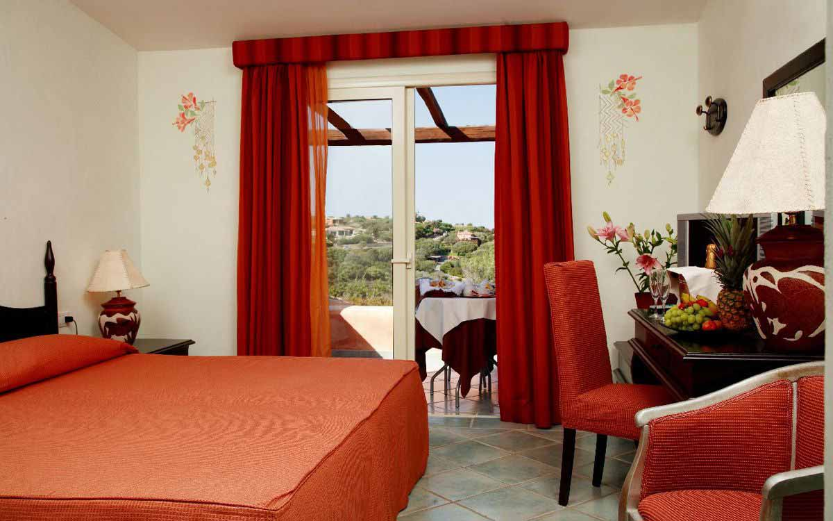 Superior room at Grand Hotel in Porto Cervo