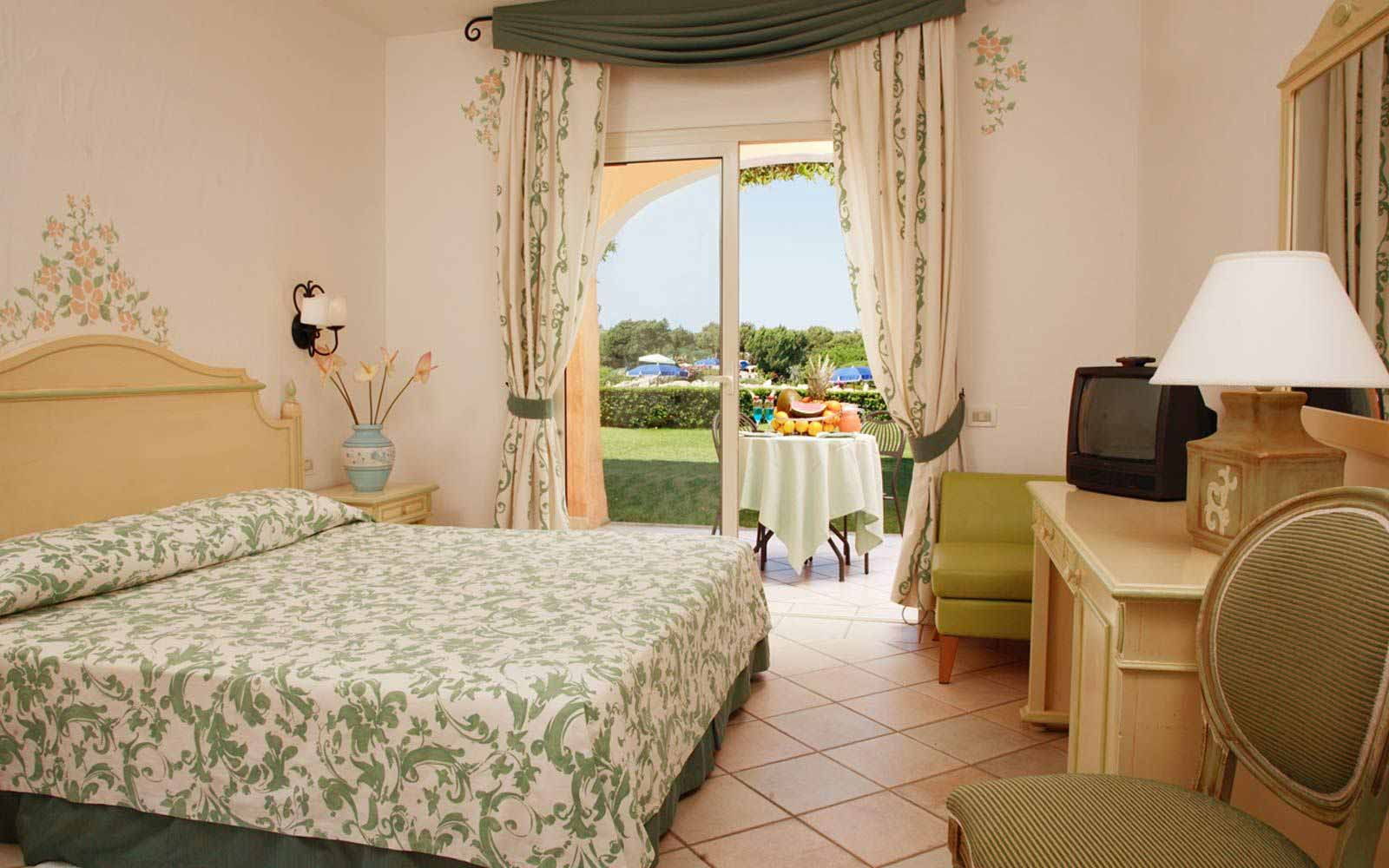 Classic double room at Grand Hotel in Porto Cervo