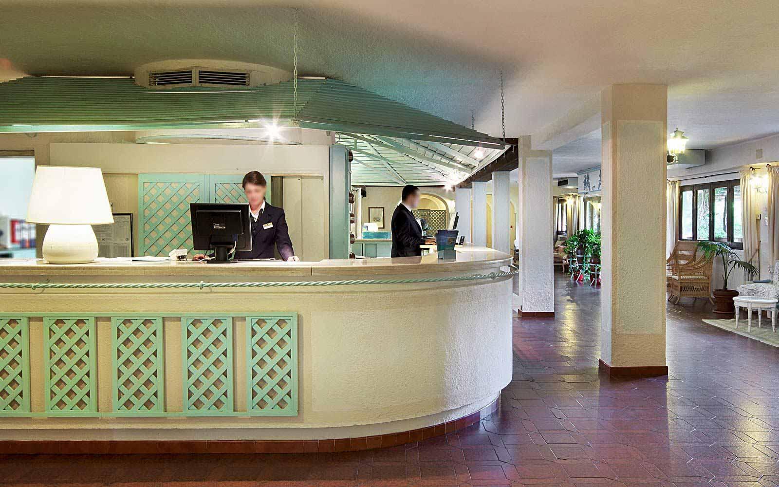 Reception at Grand Hotel Smeraldo Beach