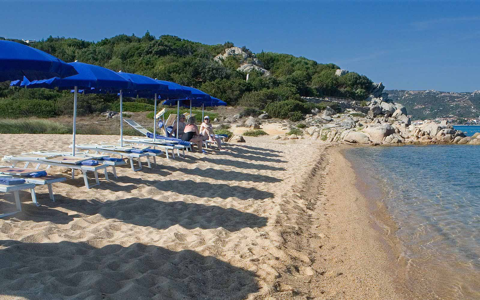 Beach at L'Ea Bianca Luxury Resort