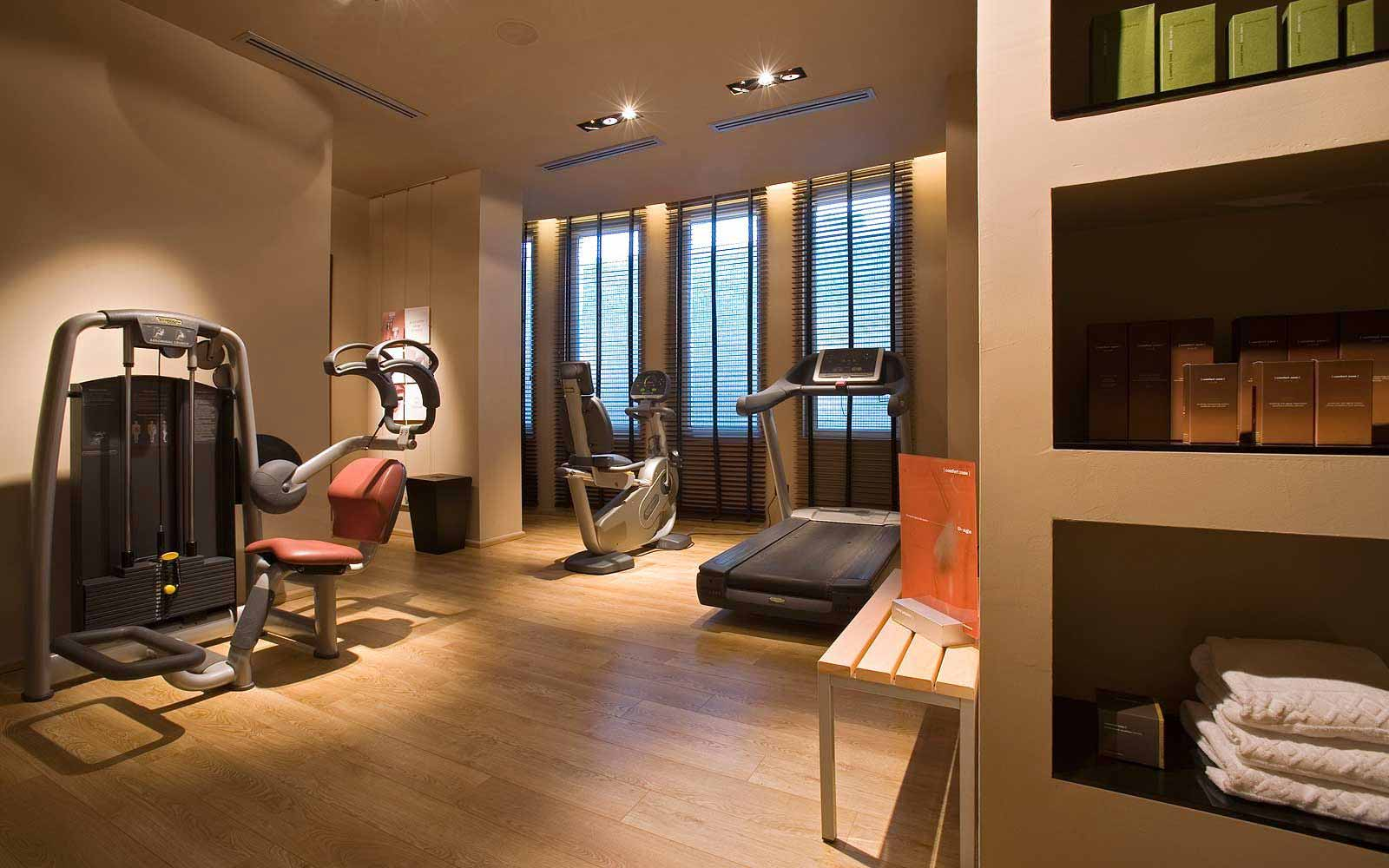 Gym at La Coluccia Hotel & Beach Club