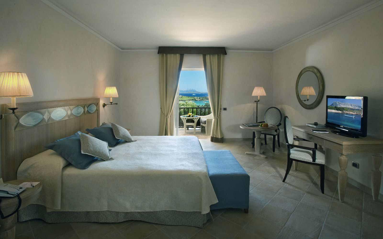Standard room sea view at Hotel Petra Bianca